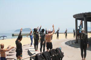 広島県トライアスロン協会主催のOWS講習会
